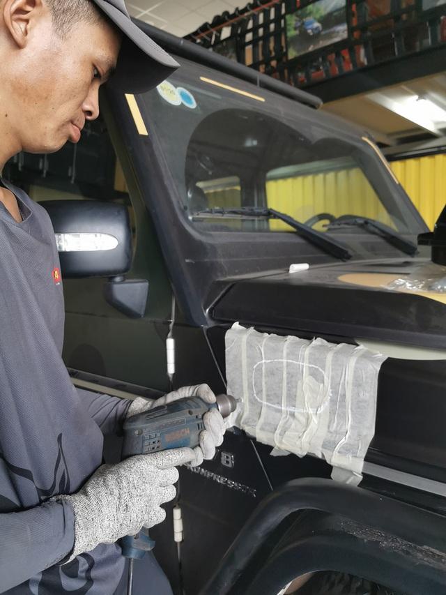 Khám phá bộ đôi Mercedes-Benz G-Class độ ống thở của doanh nhân Đặng Lê Nguyên Vũ - Ảnh 7.