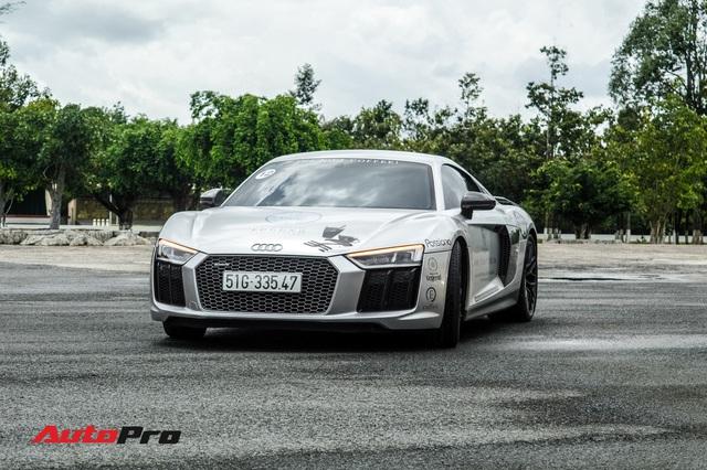 Doanh nhân Đặng Lê Nguyên Vũ bán lại Audi R8 V10 Plus cho một showroom ở Sài Gòn - Ảnh 1.