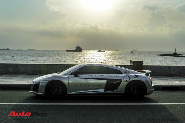 Doanh nhân Đặng Lê Nguyên Vũ bán lại Audi R8 V10 Plus cho một showroom ở Sài Gòn - Ảnh 4.