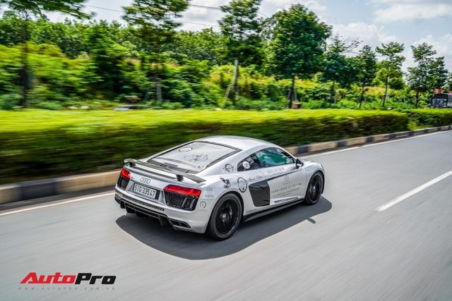 Doanh nhân Đặng Lê Nguyên Vũ bán lại Audi R8 V10 Plus cho một showroom ở Sài Gòn - Ảnh 7.