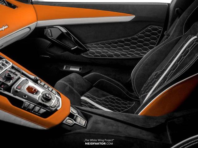 Lamborghini Aventador độ nội thất khủng, chi phí ngang một chiếc Land Rover Discovery Sport 2019 - Ảnh 4.