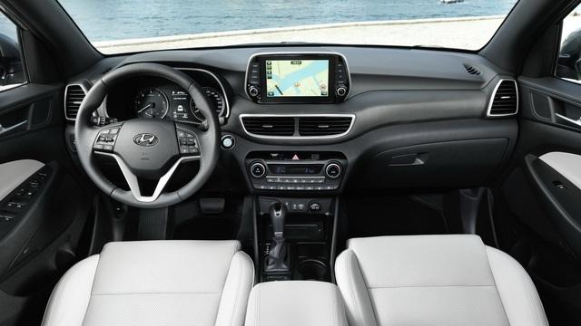 Hyundai Tucson nâng cấp nhẹ, tăng sức cạnh tranh Honda CR-V