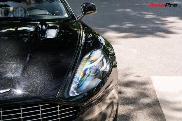 Hàng hiếm Aston Martin Rapide của đại gia Hà Thành đeo biển số siêu đẹp - Ảnh 4.