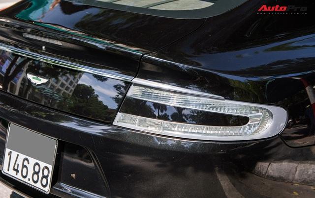 Hàng hiếm Aston Martin Rapide của đại gia Hà Thành đeo biển số siêu đẹp - Ảnh 9.