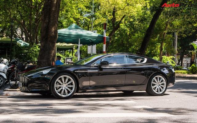 Hàng hiếm Aston Martin Rapide của đại gia Hà Thành đeo biển số siêu đẹp - Ảnh 6.