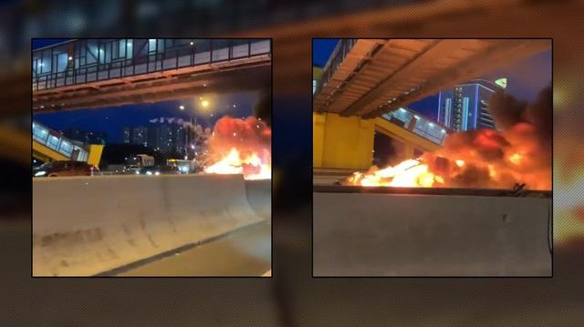 """Video chứng minh xe Tesla là """"quả bom nổ chậm"""""""