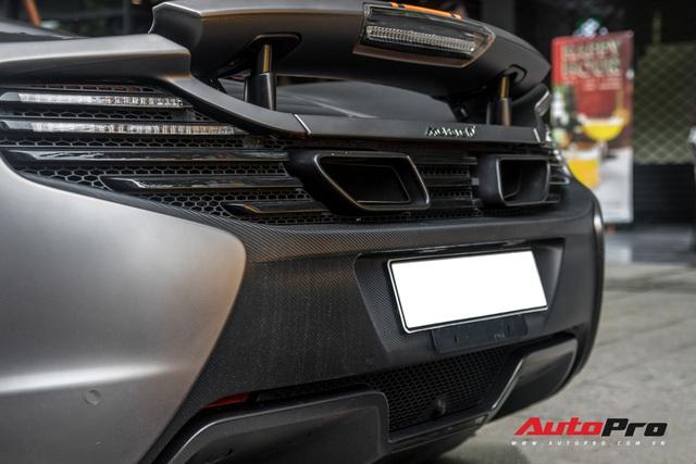 Vừa thay áo mới, McLaren 650S Spider của đại gia Bến Tre đã lên decal phong cách xe đua nhưng có 2 chi tiết đáng chú ý hơn cả - Ảnh 14.