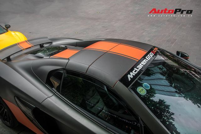Vừa thay áo mới, McLaren 650S Spider của đại gia Bến Tre đã lên decal phong cách xe đua nhưng có 2 chi tiết đáng chú ý hơn cả - Ảnh 16.