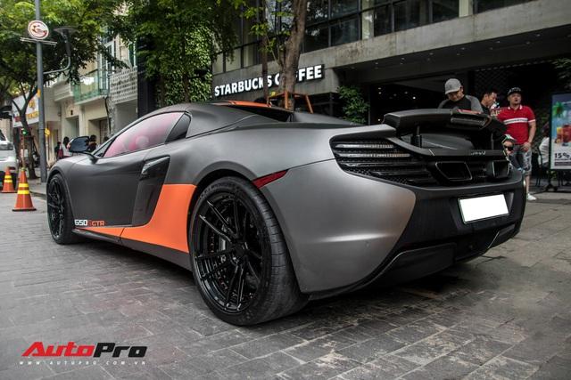 Vừa thay áo mới, McLaren 650S Spider của đại gia Bến Tre đã lên decal phong cách xe đua nhưng có 2 chi tiết đáng chú ý hơn cả - Ảnh 12.