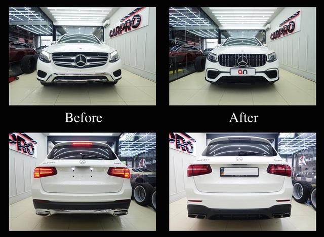 Ưng Hoàng Phúc độ Mercedes-Benz GLC 250 mới mua theo phong cách hiệu suất cao Mercedes-AMG GLC 63 - Ảnh 3.