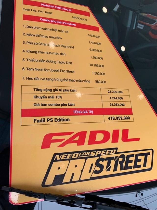 Đại lý tự độ VinFast Fadil phiên bản thể thao bán giá 419 triệu đồng - Ảnh 3.