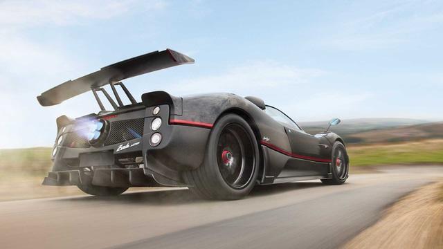 Pagani Zonda Aether len san dau gia hua hen thu ve khoan tien du mua moi Bugatti Chiron Sport