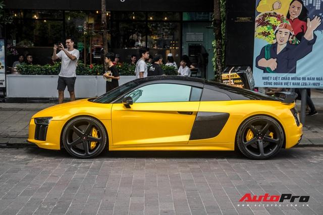 Sau khi thay áo mới, Audi R8 V10 Plus của đại gia Bến Tre liên tục xuất hiện trên đường phố Sài Gòn - Ảnh 11.