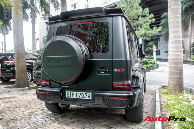 'Khủng long' Mercedes-AMG G63 độ bodykit Brabus xuất hiện trên phố, biển số dễ gây lầm tưởng với xe của Minh Nhựa - Ảnh 3.