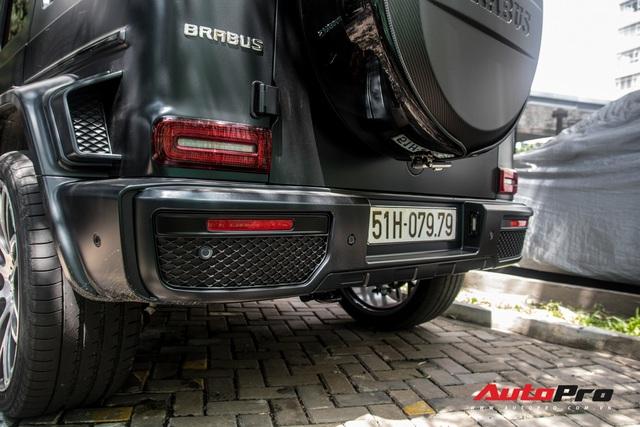 'Khủng long' Mercedes-AMG G63 độ bodykit Brabus xuất hiện trên phố, biển số dễ gây lầm tưởng với xe của Minh Nhựa - Ảnh 17.