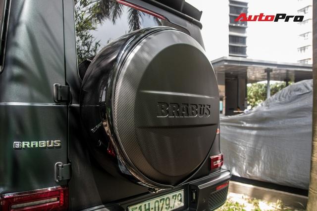 'Khủng long' Mercedes-AMG G63 độ bodykit Brabus xuất hiện trên phố, biển số dễ gây lầm tưởng với xe của Minh Nhựa - Ảnh 18.