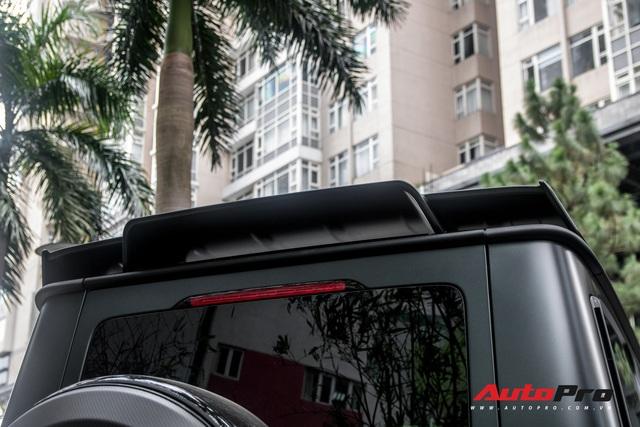 'Khủng long' Mercedes-AMG G63 độ bodykit Brabus xuất hiện trên phố, biển số dễ gây lầm tưởng với xe của Minh Nhựa - Ảnh 19.