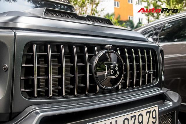'Khủng long' Mercedes-AMG G63 độ bodykit Brabus xuất hiện trên phố, biển số dễ gây lầm tưởng với xe của Minh Nhựa - Ảnh 6.