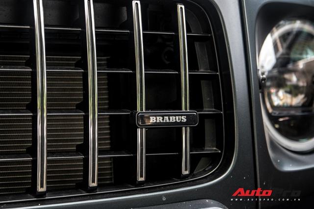 'Khủng long' Mercedes-AMG G63 độ bodykit Brabus xuất hiện trên phố, biển số dễ gây lầm tưởng với xe của Minh Nhựa - Ảnh 7.