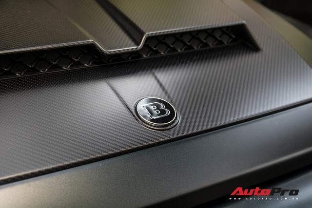 'Khủng long' Mercedes-AMG G63 độ bodykit Brabus xuất hiện trên phố, biển số dễ gây lầm tưởng với xe của Minh Nhựa - Ảnh 9.