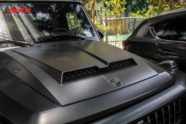 'Khủng long' Mercedes-AMG G63 độ bodykit Brabus xuất hiện trên phố, biển số dễ gây lầm tưởng với xe của Minh Nhựa - Ảnh 8.