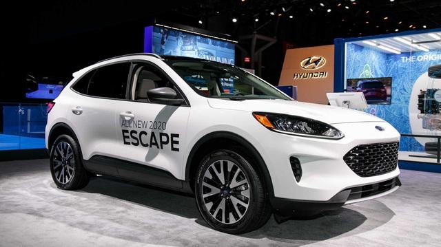 Những đối thủ ngáng đường Ford Escape 2020 tại Việt Nam