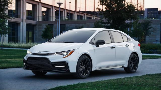 Toyota Corolla thế hệ mới sắp về Việt Nam có thêm bản thể thao Nightshade Edition