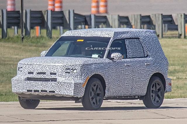 Thêm ảnh thử nghiệm Ford Baby Bronco - SUV cỡ nhỏ thuần off-road - Ảnh 1.