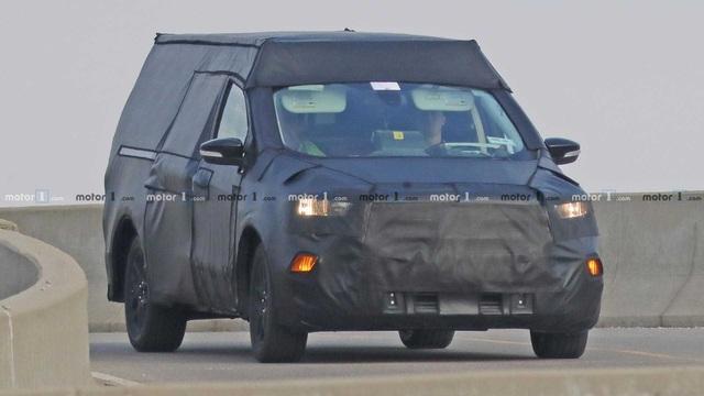 Đàn em Ford Ranger với khung gầm Focus lộ nhiều thông tin mới - Ảnh 1.