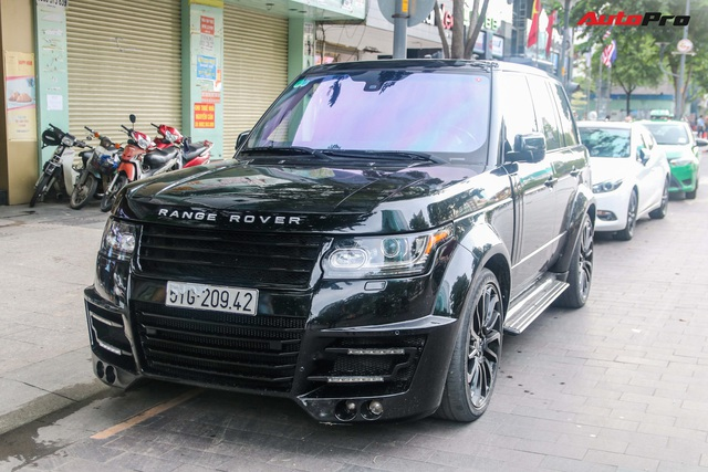 Đại gia Sài Gòn biến Range Rover thế hệ cũ giống hệt thế hệ mới nhờ độ thêm các chi tiết này - Ảnh 1.