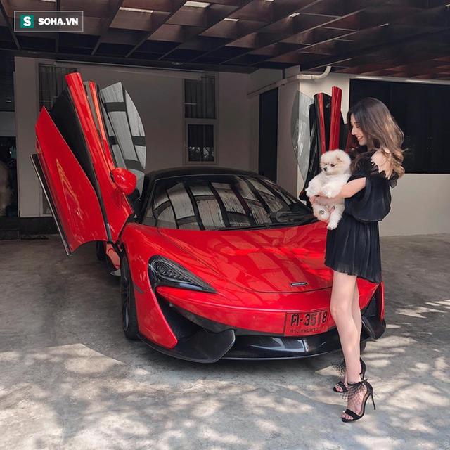 Cô gái xuất hiện bên loạt siêu xe gây sốt cộng đồng mạng: Sinh ra tại Hà Nội, nhà có 80 xe khủng và làm thiết kế xe - Ảnh 2.