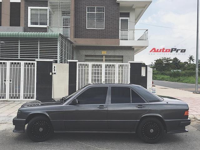 Nguoi choi xe Bien Hoa phuc dung Mercedes-Benz 190E doi 1988 Hy sinh con cung doi lay xac kho va bien thanh ban do doc dao tuong nho than tuong