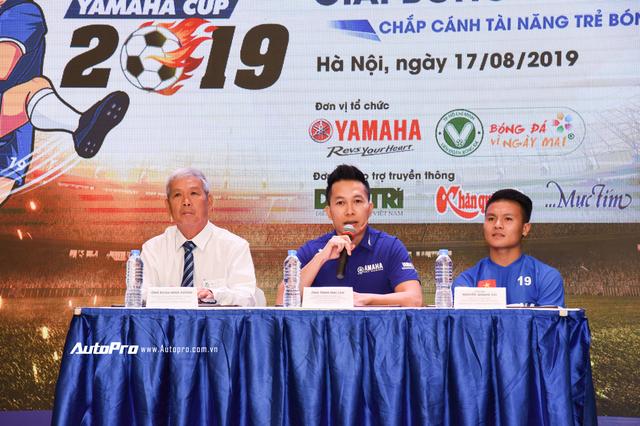Quang Hải đồng hành cùng U13 Yamaha Cup 2019, nâng cao an toàn khi đi xe máy cho trẻ em Việt Nam - Ảnh 4.