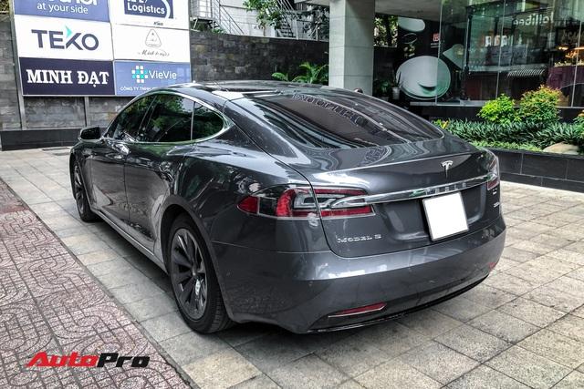 Tesla Model S 100D độc nhất Việt Nam lần đầu lăn bánh sau 6 tháng về nước - Ảnh 2.