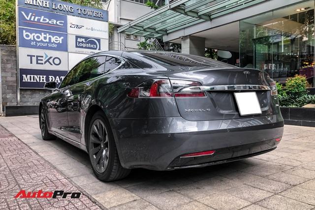 Tesla Model S 100D độc nhất Việt Nam lần đầu lăn bánh sau 6 tháng về nước - Ảnh 3.