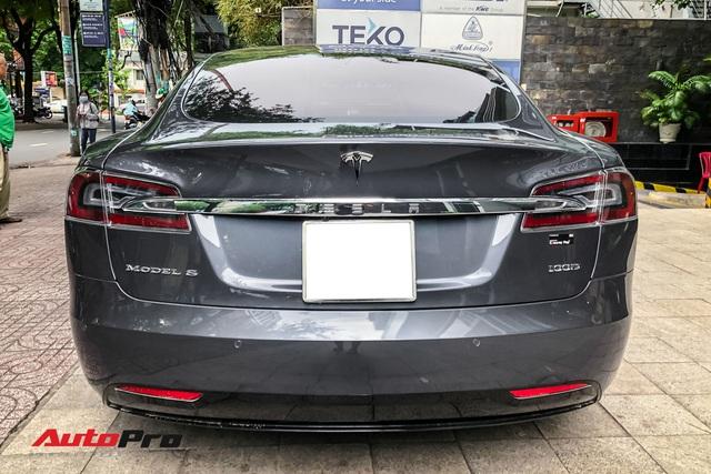 Tesla Model S 100D độc nhất Việt Nam lần đầu lăn bánh sau 6 tháng về nước - Ảnh 4.