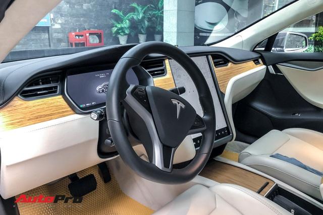 Tesla Model S 100D độc nhất Việt Nam lần đầu lăn bánh sau 6 tháng về nước - Ảnh 13.