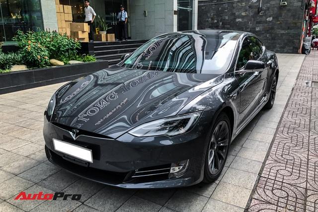 Tesla Model S 100D độc nhất Việt Nam lần đầu lăn bánh sau 6 tháng về nước - Ảnh 5.