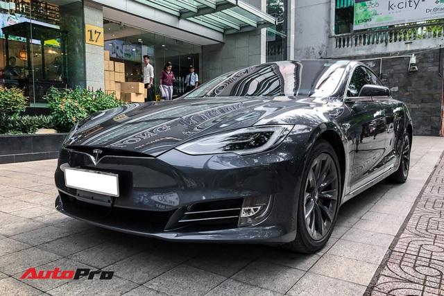 Tesla Model S 100D độc nhất Việt Nam lần đầu lăn bánh sau 6 tháng về nước - Ảnh 14.