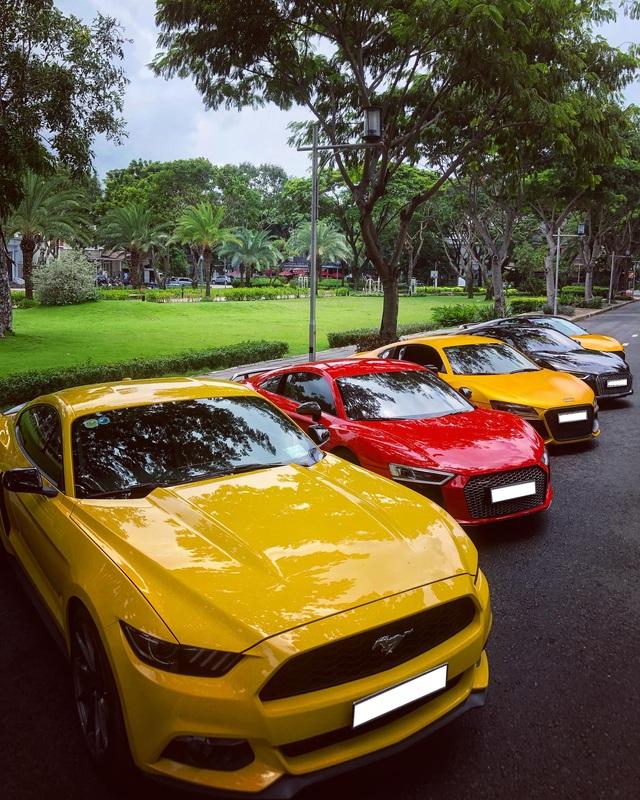 Dân chơi mang dàn Audi R8 đủ màu sắc hội ngộ tại Sài Gòn, chiếc nào cũng có tiểu sử đặc biệt - Ảnh 10.