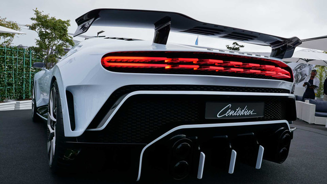 Ngam sieu pham Bugatti Centodieci long lay ngoai doi thuc Dep hon quang cao