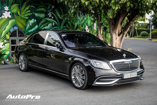 Cận cảnh Mercedes-Maybach S450 giá hơn 7 tỷ đồng mới tậu của trưởng đoàn Car Passion 2019 - Ảnh 1.