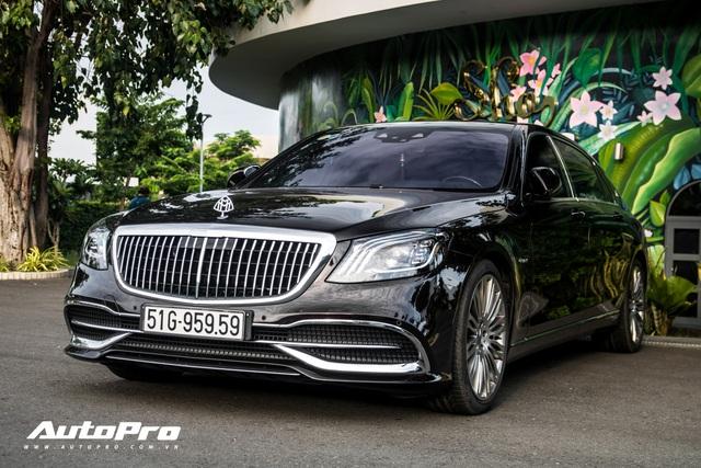 Cận cảnh Mercedes-Maybach S450 giá hơn 7 tỷ đồng mới tậu của trưởng đoàn Car Passion 2019 - Ảnh 7.