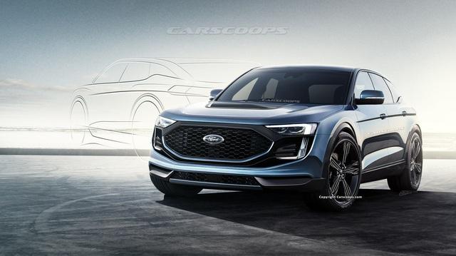 SUV lấy cảm hứng từ Ford Mustang có thể trình diện ngay cuối năm nay