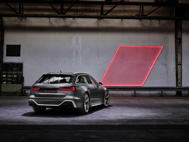 Ra mắt Audi RS6 Avant với công suất khủng 592 mã lực - Ảnh 2.