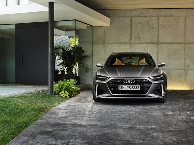Ra mắt Audi RS6 Avant với công suất khủng 592 mã lực - Ảnh 4.
