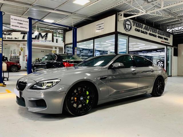 Kỳ công độ phong cách M6, BMW 640i Gran Coupe màu lạ bán lại giá hơn 2,8 tỷ đồng - Ảnh 4.