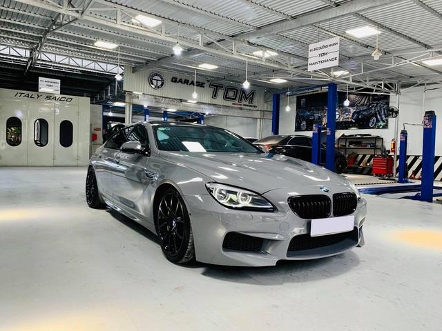 Kỳ công độ phong cách M6, BMW 640i Gran Coupe màu lạ bán lại giá hơn 2,8 tỷ đồng - Ảnh 1.