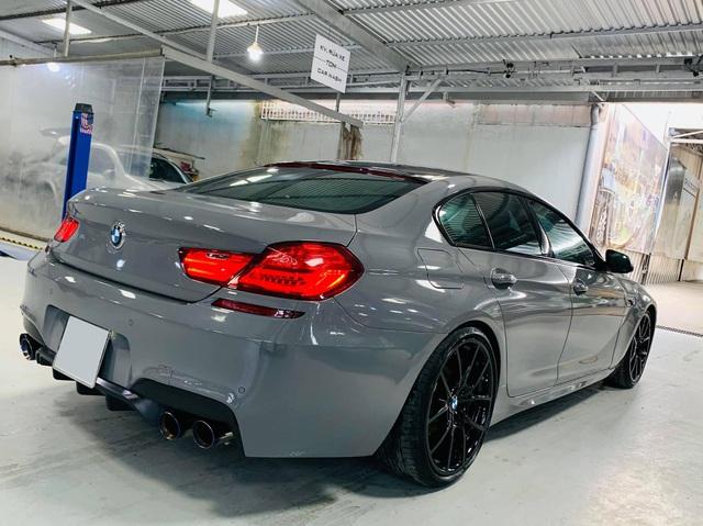 Kỳ công độ phong cách M6, BMW 640i Gran Coupe màu lạ bán lại giá hơn 2,8 tỷ đồng - Ảnh 3.