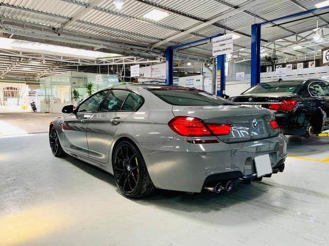 Kỳ công độ phong cách M6, BMW 640i Gran Coupe màu lạ bán lại giá hơn 2,8 tỷ đồng - Ảnh 2.